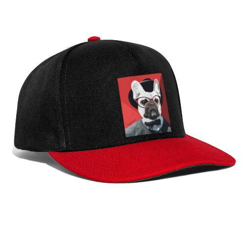French Bulldog Artwork 2 - Snapback Cap