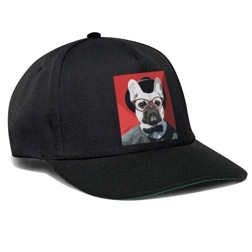 French Bulldog Artwork 2 - Snapback Cap