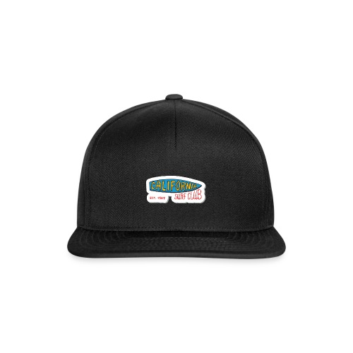 California Surfer Club - Snapback Cap