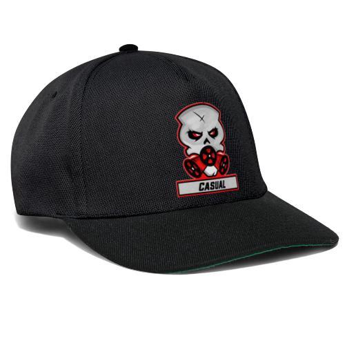 Casual-Gaming-Logo - Snapback Cap