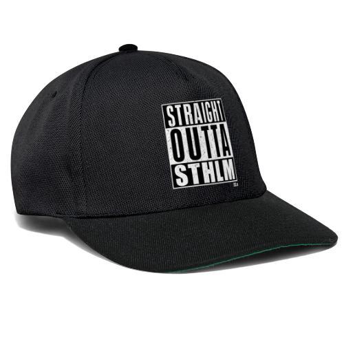 Str8 Outta Sthlm - Snapback Cap