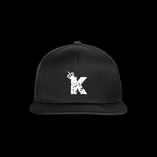 Kinzzyy White - Snapback Cap