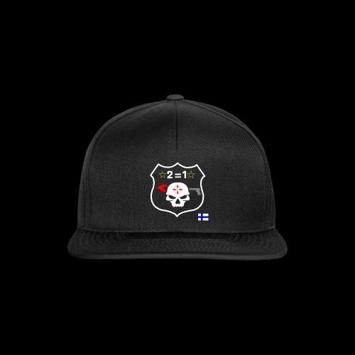 Paita logo selkä PAREMPI MUSTA png - Snapback Cap