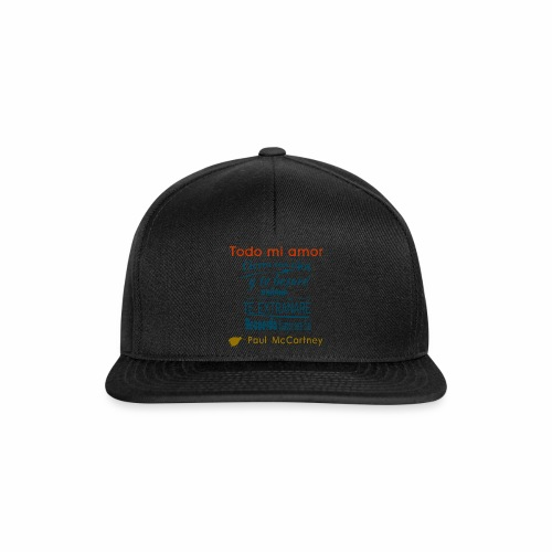 All my loving español 1 - Gorra Snapback