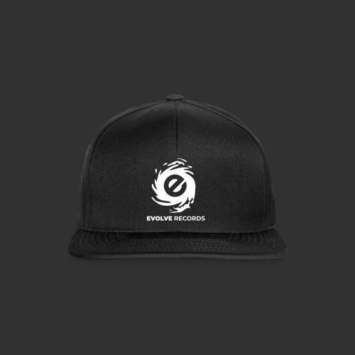 EVOLVE RECORDS - WHITE - Snapback Cap