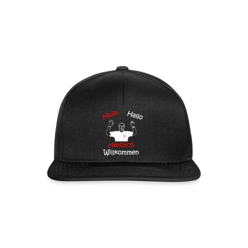 Moin Hallo Herzlich Willkommen - DerDickeDirk - Snapback Cap