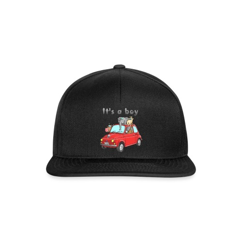 It's a boy - Baby - Cartoon - lustig - Snapback Cap