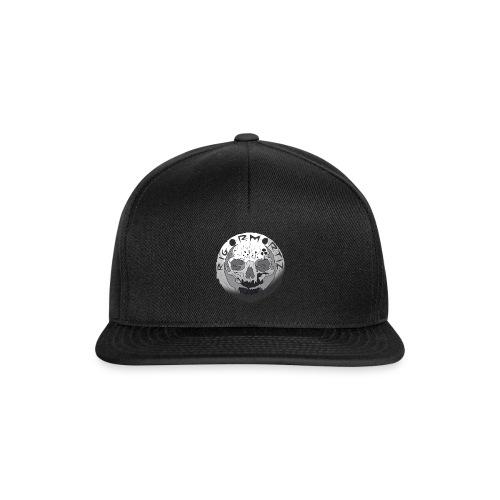 Rigormortiz Black and White Design - Snapback Cap