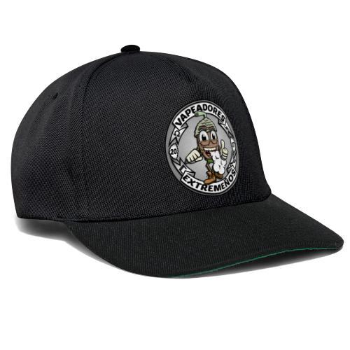 logo blanco - Gorra Snapback