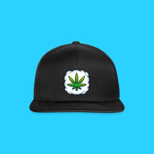 weed logo kazz 2 png - Snapback Cap