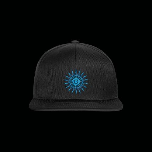 Mandala Blau - Snapback Cap