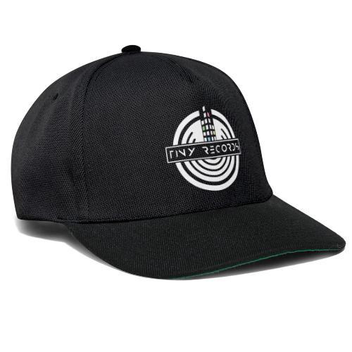Tiny Records - White Logo - Snapback Cap