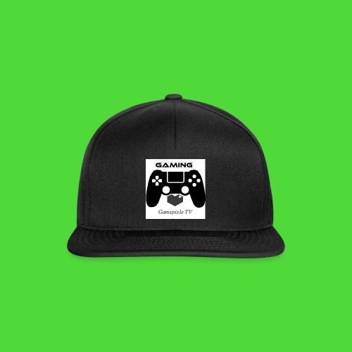 Gamepixle-Merch - Snapback Cap