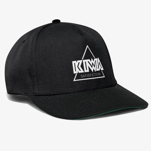 KIWA Satisfiction White - Snapback Cap