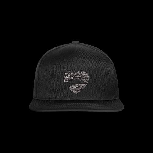 cuordinapoli black - Snapback Cap