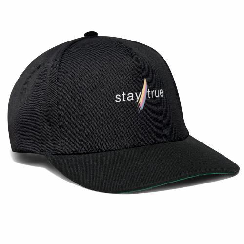stay true - Snapback Cap