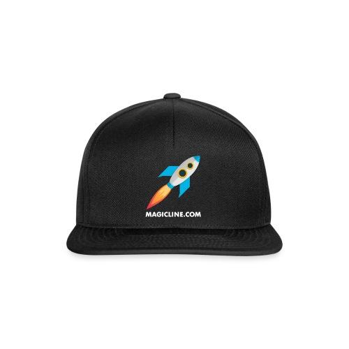 Rocket Magicline com Typo weiss DIN A3 - Snapback Cap
