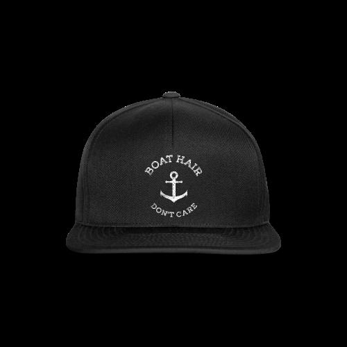 Boat Hair Dont Care - Anker - Snapback Cap