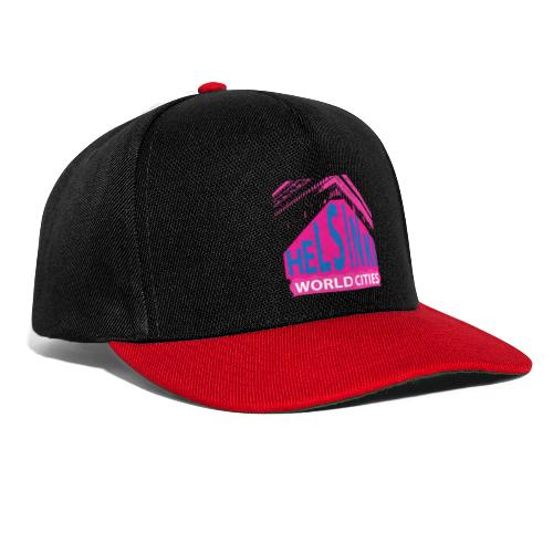 Helsinki2 pink2 - Snapback Cap