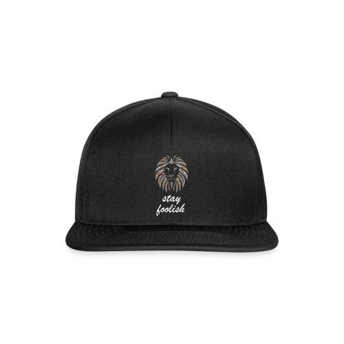 stay foolish t-shirt - Snapback Cap
