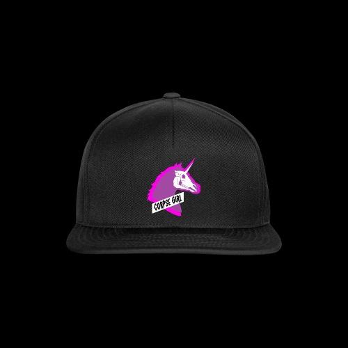 Corpse Girl - Undead Unicorn - Snapback Cap
