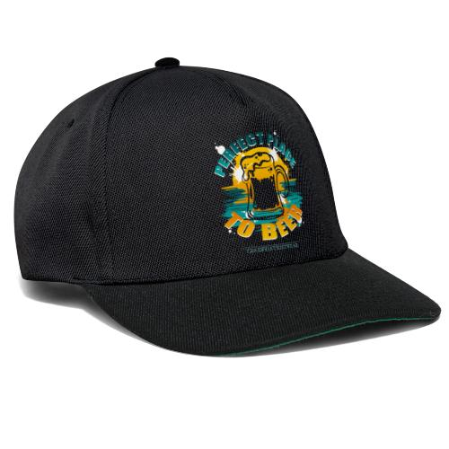a perfect place to beer - Snapback Cap