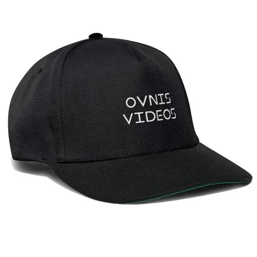 Collection Ovnis Videos - Casquette snapback