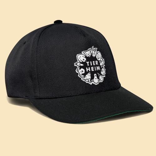 Tierheim Logo Schwarzweiss - Snapback Cap