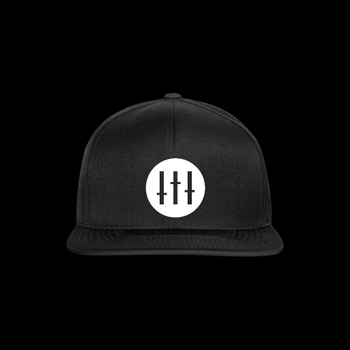 DJ-U LOGO wit - Snapback cap