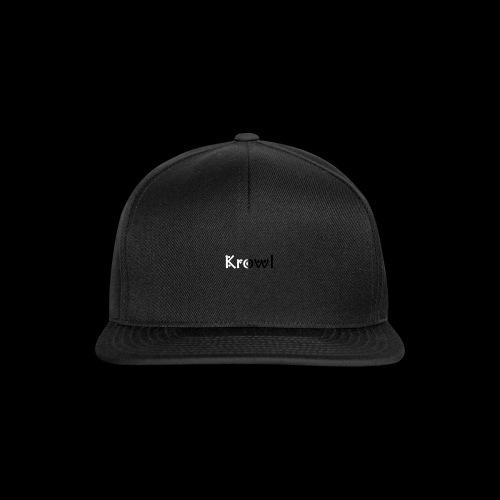 Krowl 1st Yin & Yang Design - Casquette snapback