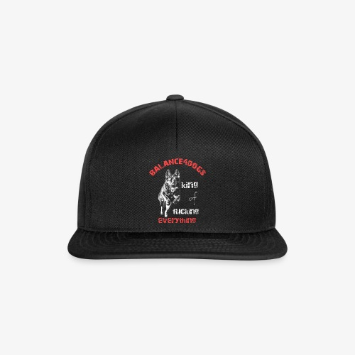 Balance4dogs - king of fucking everything - DS - Snapback Cap