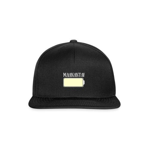 Maanantai - Snapback Cap