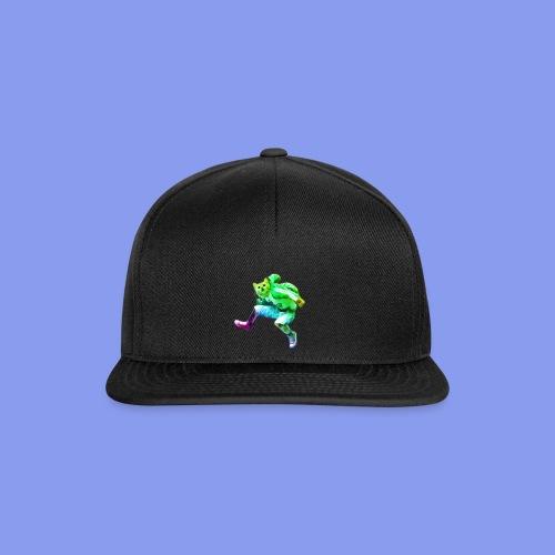 cat jump rainbow png - Snapback Cap