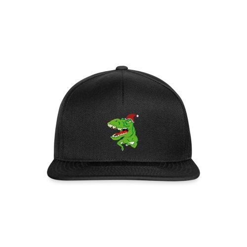 Navidad dinosaurio - Gorra Snapback