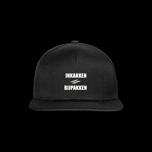 INKAKKEN IS BIJPAKKEN - Snapback cap