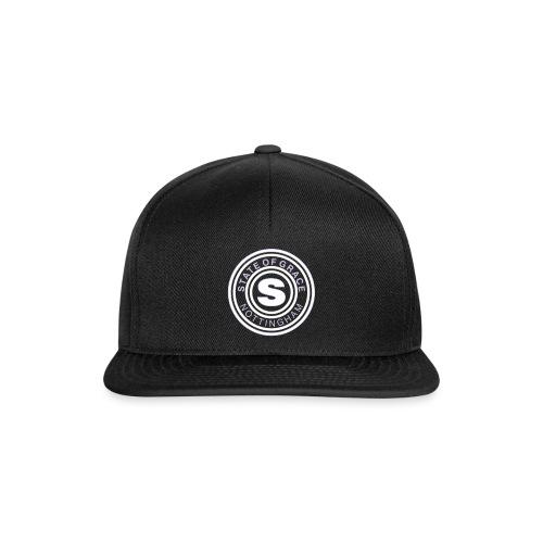 state of grace logo - Snapback Cap