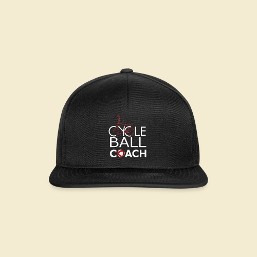 Radball | Cycle Ball Coach - Snapback Cap