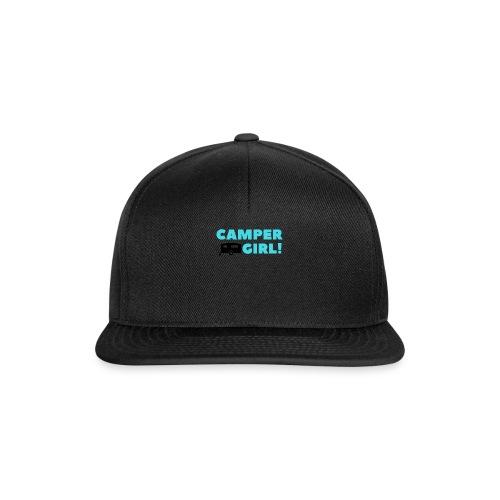 CAMPER Girl - Snapback Cap