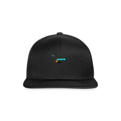 king awesome - Snapback Cap