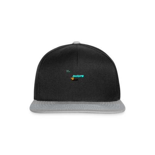 king awesome - Snapback Cap