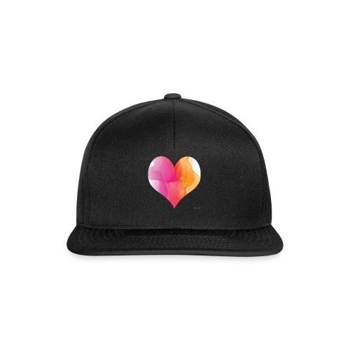 Love Heart Design - Snapback Cap