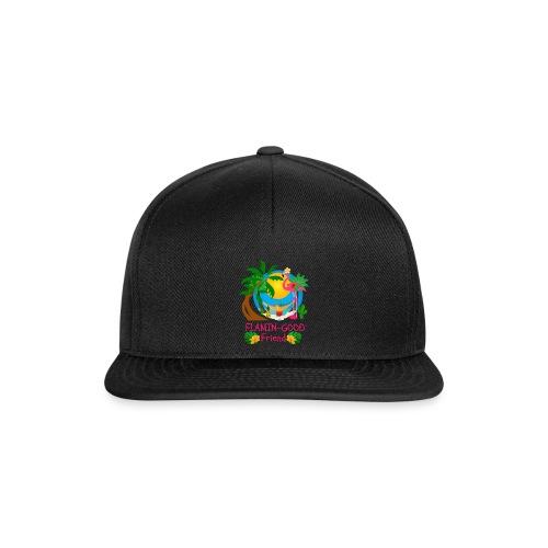 Cute Tropical Flamingo Hawaiian Design Sister Gift - Snapback Cap