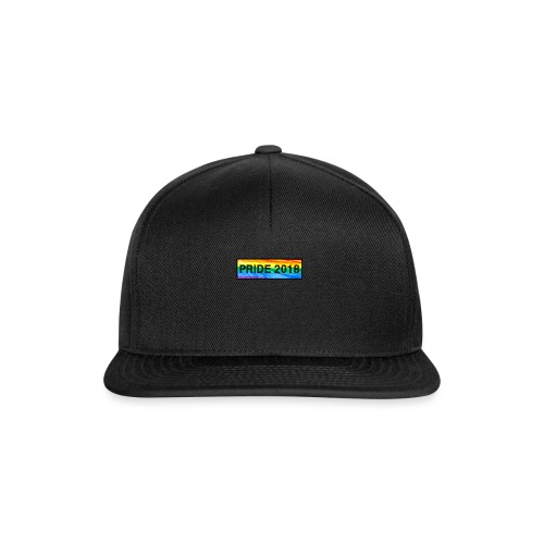 Pride 2018 long design - Snapback Cap