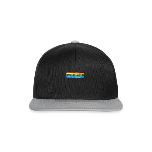 Pride 2018 long design - Snapback Cap
