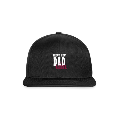 new dad it´s a girl - Gorra Snapback