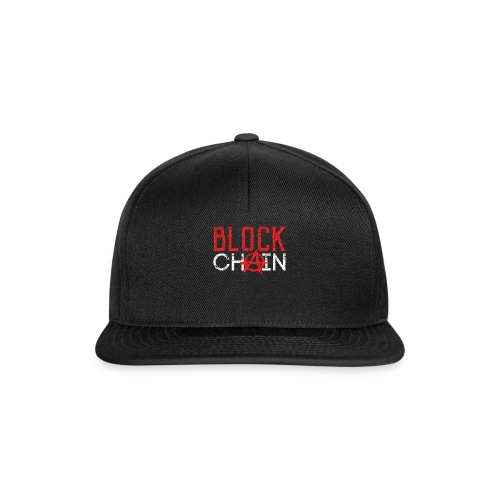 Blockchain Technology Crypto - Snapback Cap