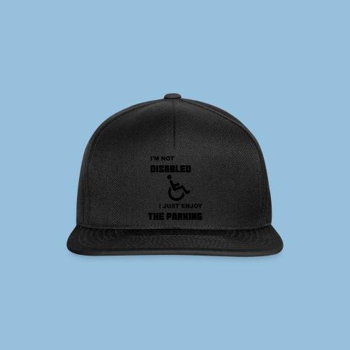 notdisabled1 - Snapback cap