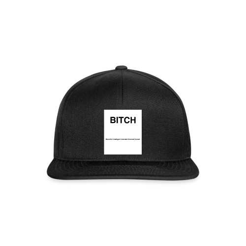 BITCH - Snapback cap