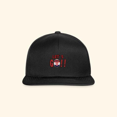 Go Croatia - Snapback Cap
