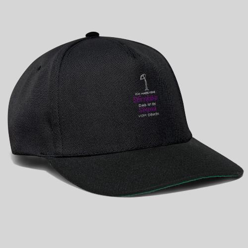 ich habe keine Stirnfalten das ist ein Sixpack - Snapback Cap